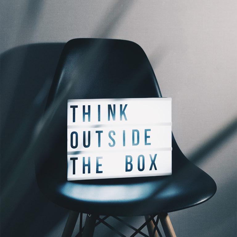 think outside the box DRH à temps partagé